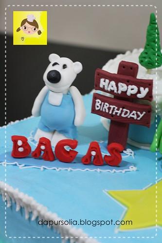 Poror Cake for Bagas