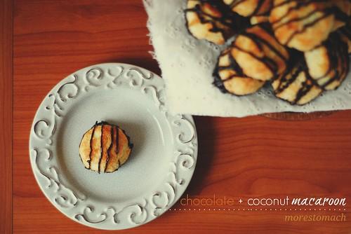Chocolate + Coconut Macaroons
