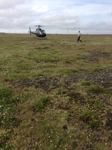 helicopter ride in Iceland