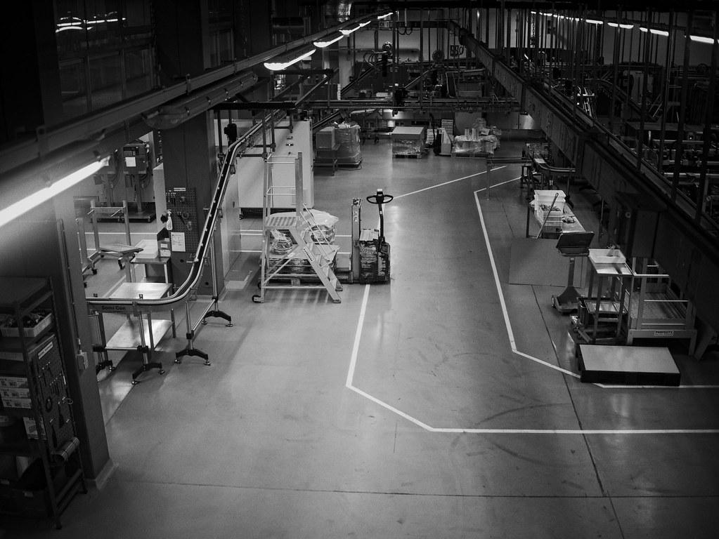 Int rieur d 39 usine for Interieur usine