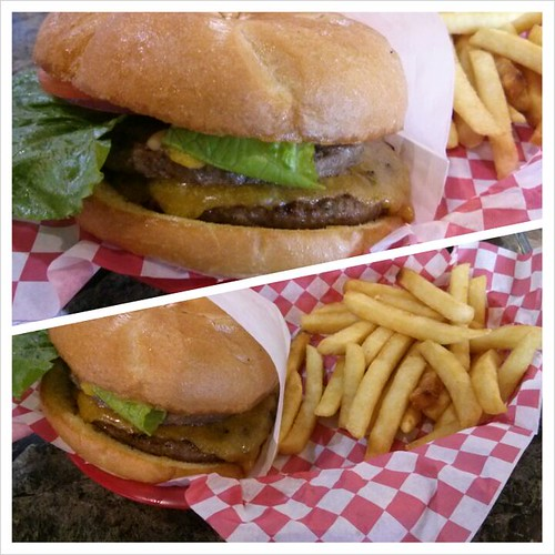 Double Cheeseburger @ Billie On Gourmet Burgers