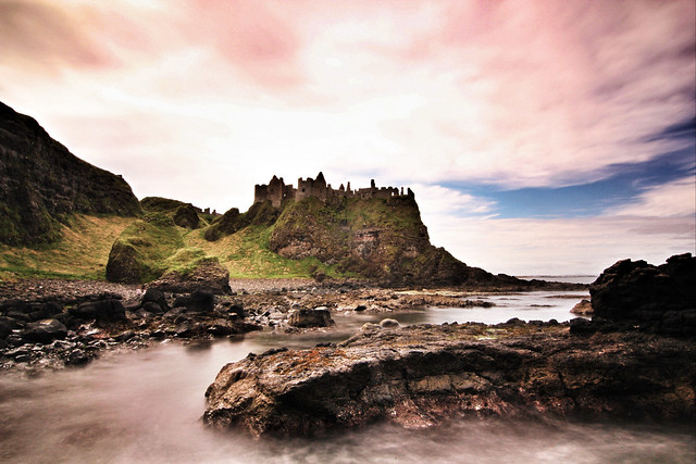 Dunluce Castle, County Antrim, Northern Ireland, UK