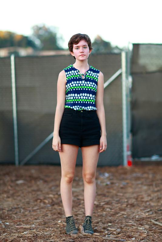 sophia_fyf FYF Fest, L.A. State Historic Park, LA, music, street fashion, street style, women