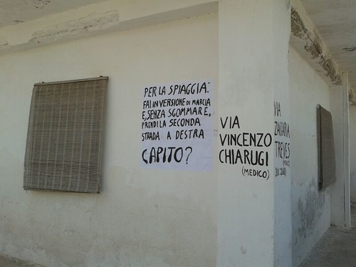 #rotolandoversosud2013 indicazioni? by manuelongo