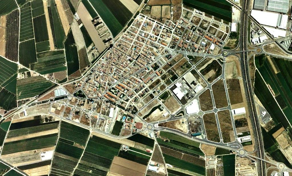 El Palau de l'Anglesola, Lleida, El Palacio de Argensola, después, urbanismo, planeamiento, urbano, desastre, urbanístico, construcción, rotondas, carretera