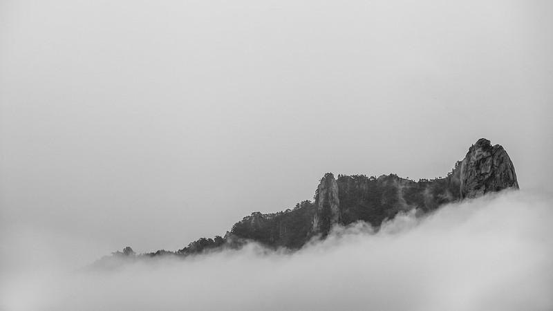 Mt. Seoraksan.