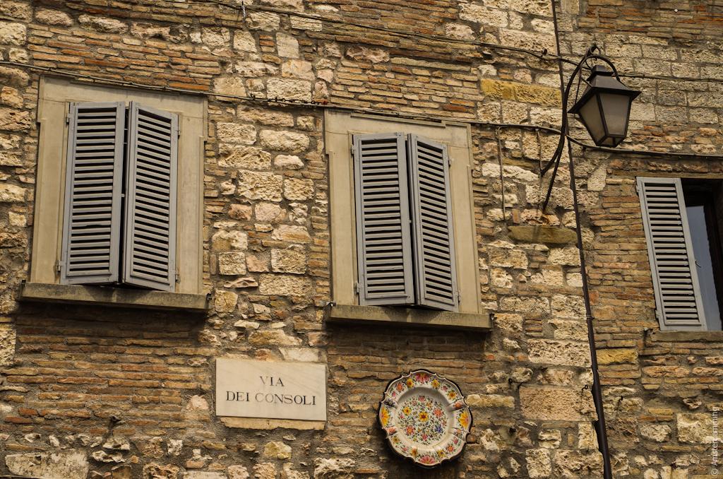 Italy, Gubbio - Details