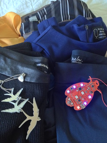 Packing bags for #NBOG13 countdown... See the lovely Canadian designers I'm so lucky to be wearing.