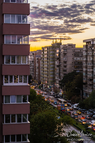 Friday evening in Bucharest by Daniel Mihai
