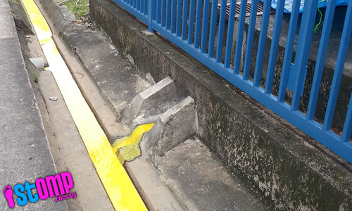 Water pollution? Yellowish liquid spotted in Loyang industrial estate's drainage