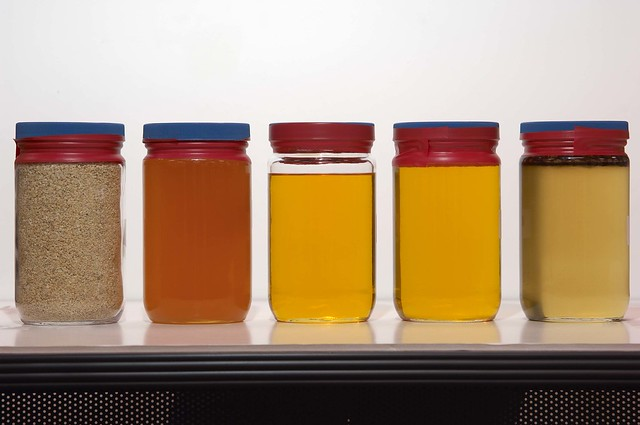 soybean oils color classification