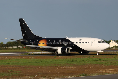 G-ZAPZ Boeing 737-33A by Guernsey Airport Photography