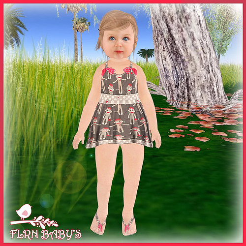 Monkey Dress 75L by ~ ✫ FLRN BABY'S & FLRN DESIGN ✫ ~