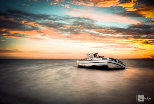ocean water clouds sunrise dawn boat nikon ship tampabay sunk hdr sinking skyway pinellascounty d7100