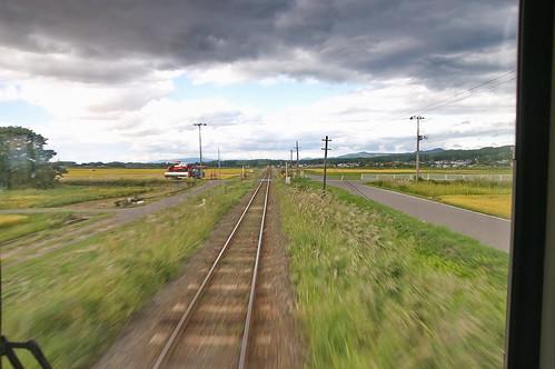 【写真】津軽鉄道-下り