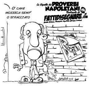 U' Came Mozzc semp u' stracciat by Giuseppe Lombardi