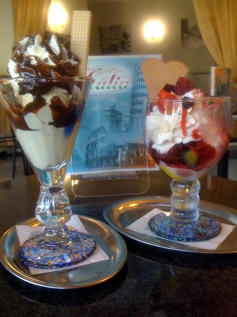 Mmm... Ice cream