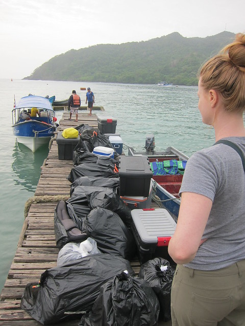 Packing the Boats in Sapzurro