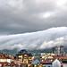 Un tsunami de nube sobre Oviedo