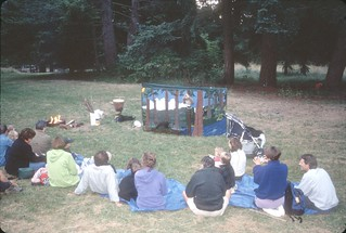 Campfire program in Discovery Park, 1999