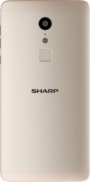 Sharp Z2 - Gold - Back