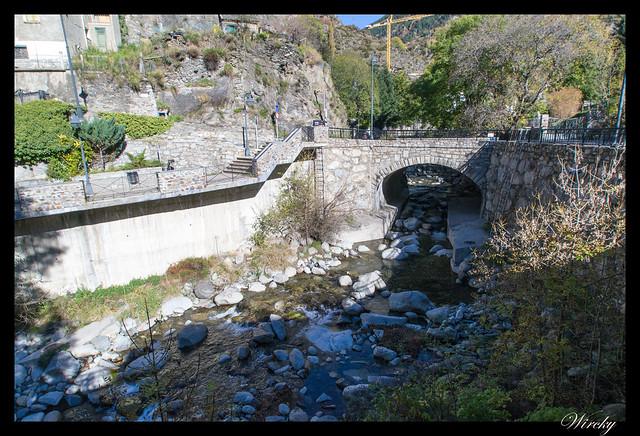 Conjunto histórico de Les Bons - Puente de Les Bons