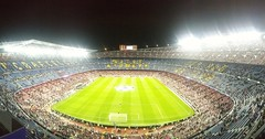 Camp Nou. F.C.Barcelona.