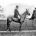 Mr. Frank Green, Treasurers House, York, on horse. by National Library of Ireland on The Commons