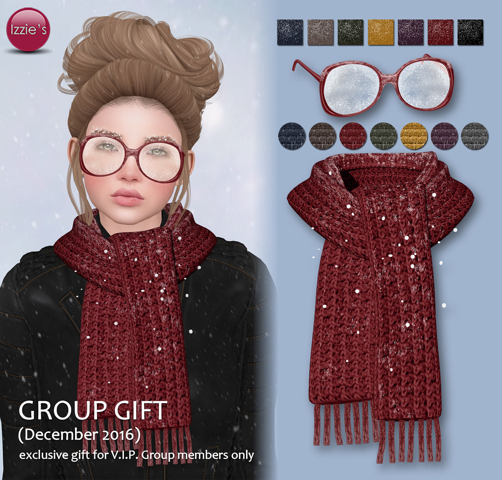 VIP Group Gift December - SecondLifeHub.com