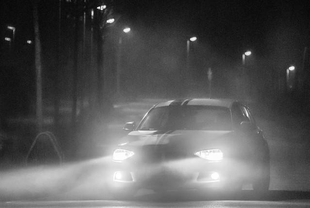Foggy winter nights