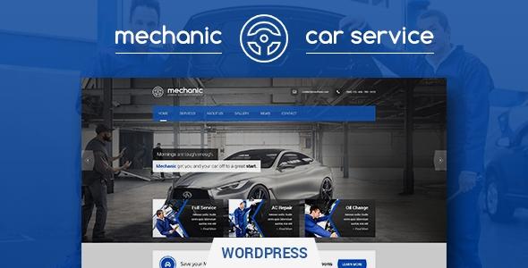 Mechanic v1.2.1 - Car Service & Workshop WordPress Theme