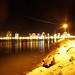 Salinas at night