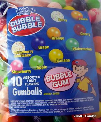 Dubble Bubble Gumballs - 10 Flavors