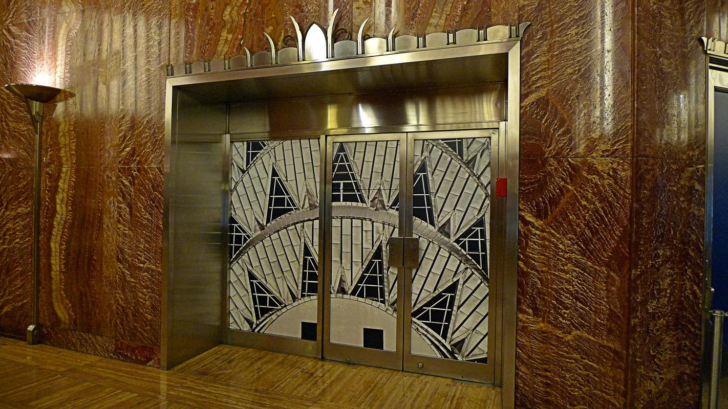 Chrysler building interior door by duncjam via flickr for Interior of a building