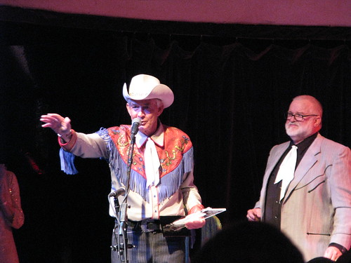 Woody Paul inducted into the National Fiddler Hall of Fame, with NFHOF board member Bob Fjeldsted, MDB21765 by Michael Bates, on Flickr