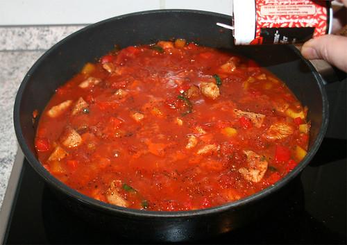 29 - Aufkochen lassen und würzen / Boil up and taste
