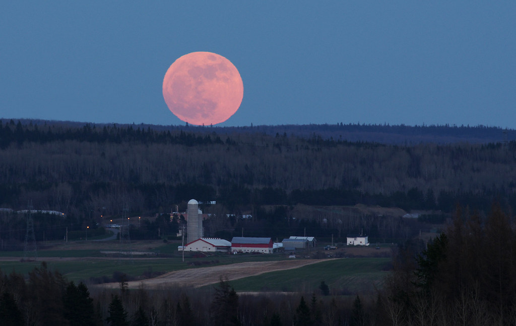 Rising Super Moon Eastern Canada May 5th 2012 Pentaxforums Com