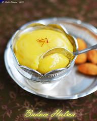 Badam Halwa Recipe Hebbar S Kitchen