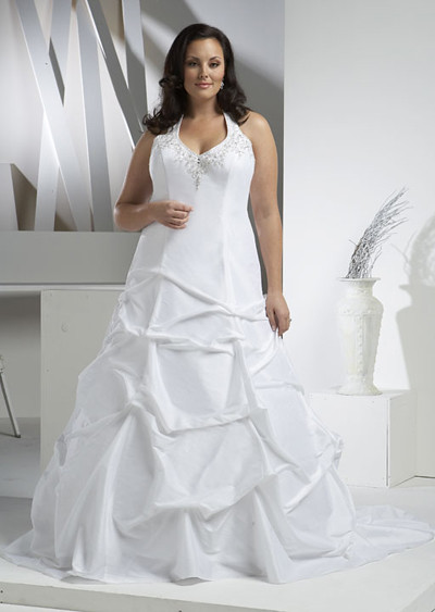 women plus size fashion dresses With the plus size wedding dresses special