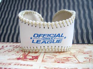 Baseball Cuff: Metal Lining! 5