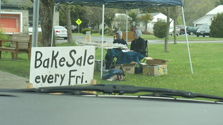 Amish Bake Sale in W. Winfield, NY