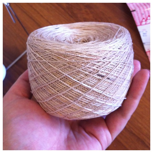 Delicious new weaving yarn
