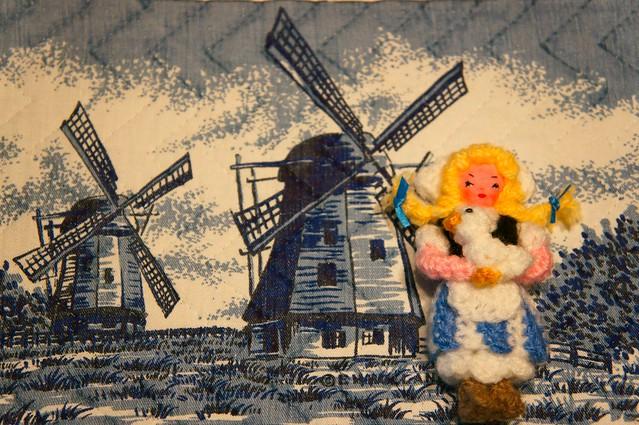 Holandesa, amigurumi.