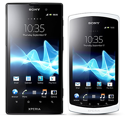 New flagship from Sony Mobile: Xperia ion; and the Xperia neo L.