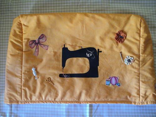 Capa Maquina de Costura by Fazendo Arte by Ana Tulio