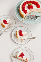 Figure Friendly Strawberry Cheesecake