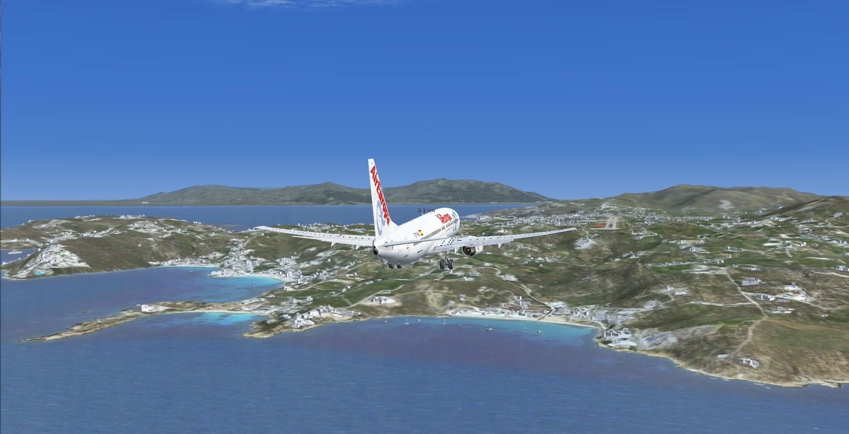 First landing Mykonos 8840930983_4058188dc2_o