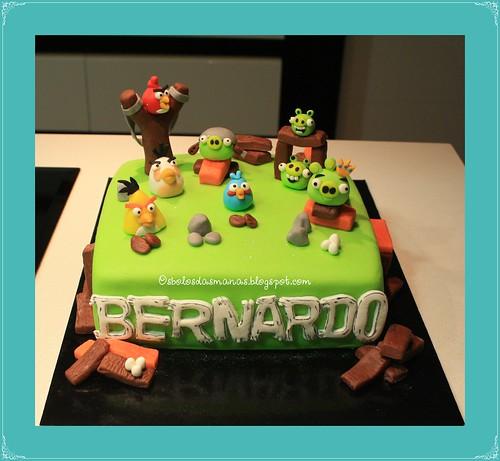 Bolo Angry Birds II by Osbolosdasmanas