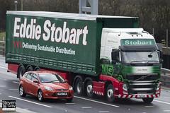 Volvo FH 6x2 Tractor - PX11 CKK - Lucy Helena - Eddie Stobart - M1 J10 Luton - Steven Gray - IMG_7973