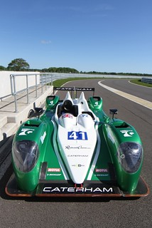 MGI supports Caterham at Le Mans 2013